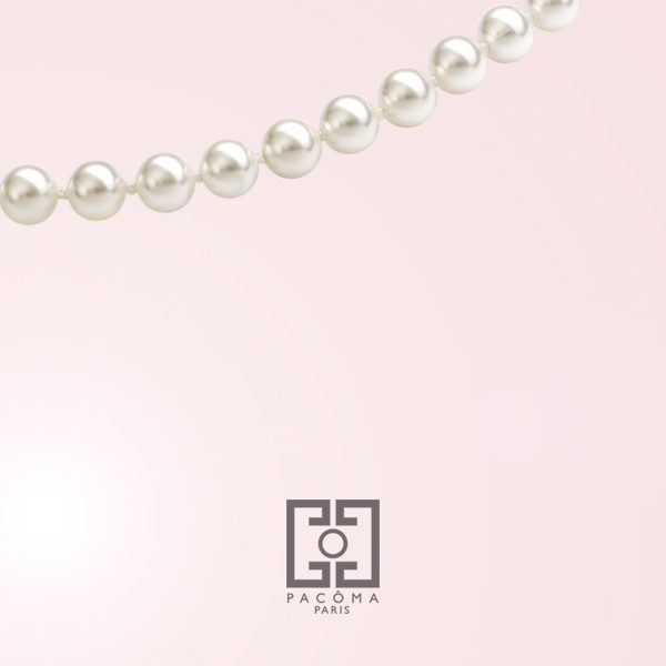 Pearls are a symbol of purity.