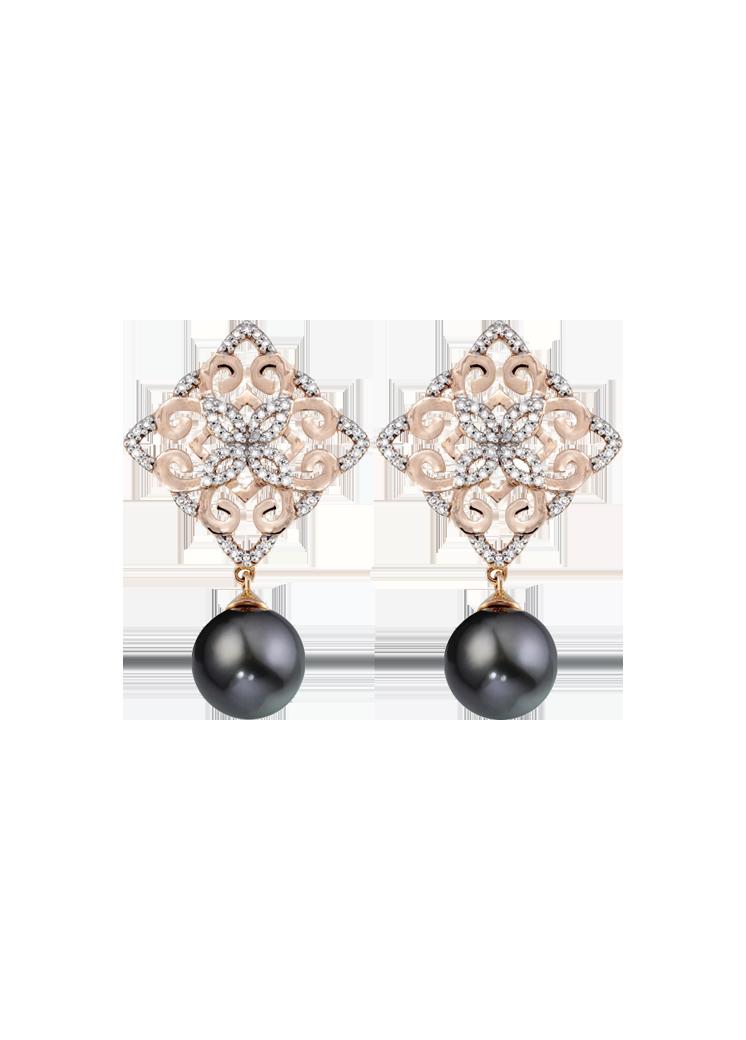 Earrings French Gardens P16000