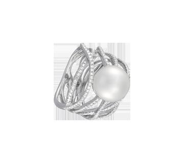 Ring Calligrapher Diamond P27006