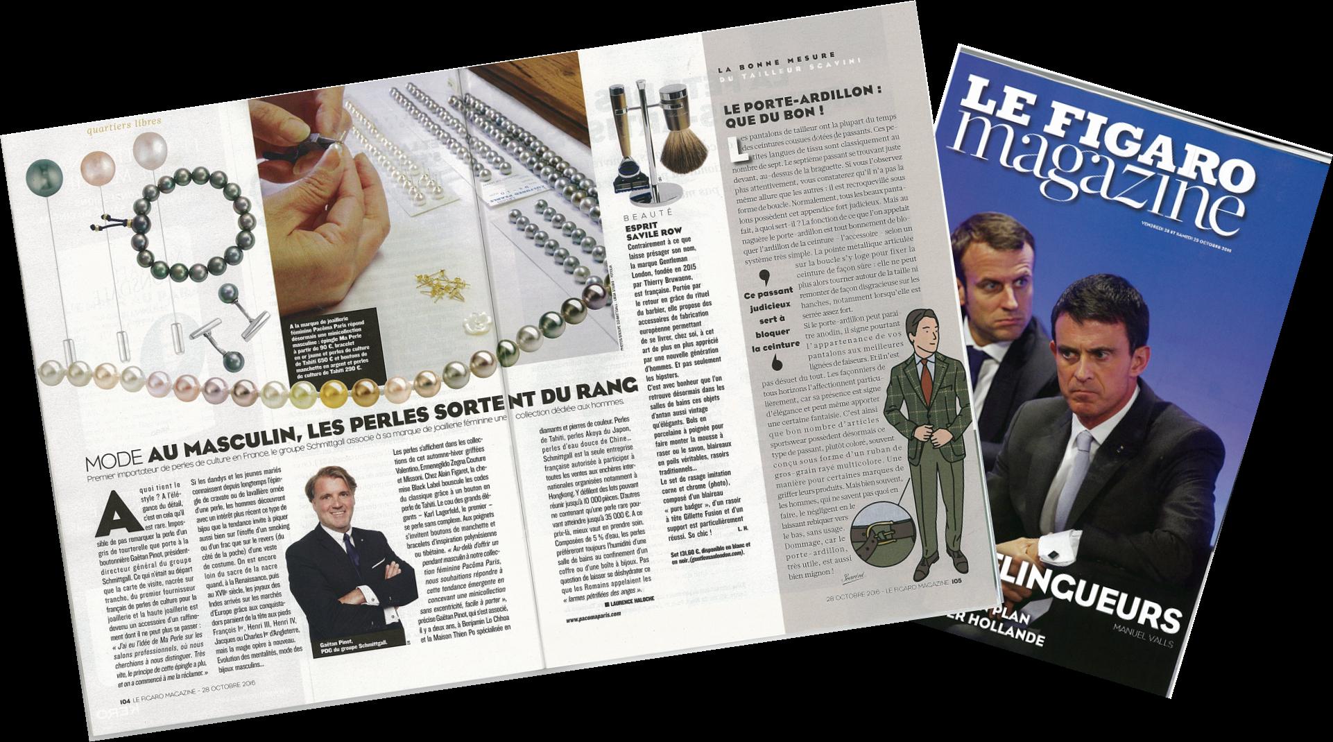 Le Figaro Magazine – Pacôma Paris