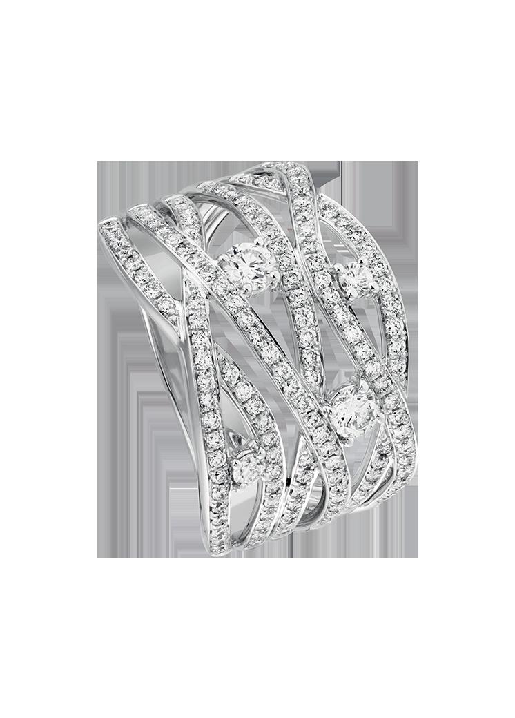 Bague Diamant Calligraphe P27016