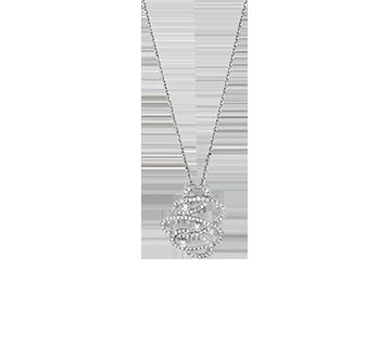 Collier Diamant Calligraphe P47016